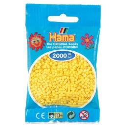 Koraliki Hama MINI 2000 Koralików 501-03 Kolor Żółty