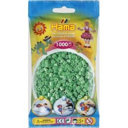 Koraliki Hama MIDI 1000 Koralików 207-11 Kolor Jasny Zielony