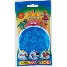 Koraliki Hama MIDI 1000 Koralików 207-73 Kolor Niebieski Transparentny