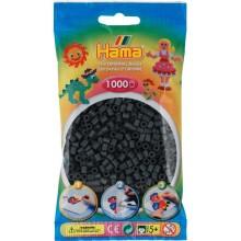 Koraliki Hama MIDI 1000 Koralików 207-71 Kolor Ciemny Popielaty