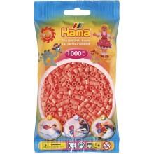Koraliki Hama MIDI 1000 Koralików 207-44 Kolor Czerwony Pastelowy