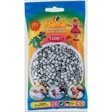 Koraliki Hama MIDI 1000 Koralików 207-70 Kolor Jasny Popielaty