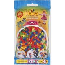 Koraliki Hama MIDI 1000 Koralików 207-51 Kolor MIX Neonowy