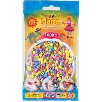 Koraliki Hama MIDI 1000 Koralików 207-50 Kolor MIX Pastelowy