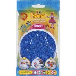 Koraliki Hama MIDI 1000 Koralików 207-41 Kolor Niebieski Neonowy