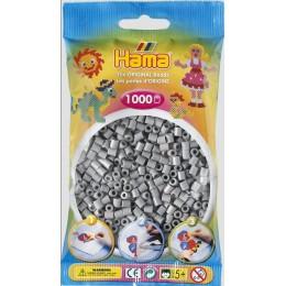 Koraliki Hama MIDI 1000 Koralików 207-17 Kolor Popielaty