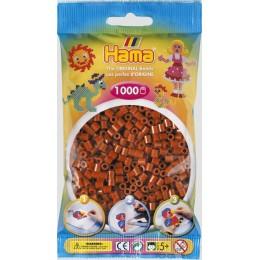 Koraliki Hama MIDI 1000 Koralików 207-20 Kolor Rdzawy