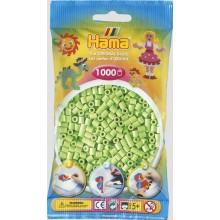 Koraliki Hama MIDI 1000 Koralików 207-47 Kolor Zielony Pastelowy