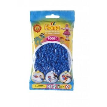 Koraliki Hama MIDI 1000 Koralików 207-09 Kolor Jasny Niebieski