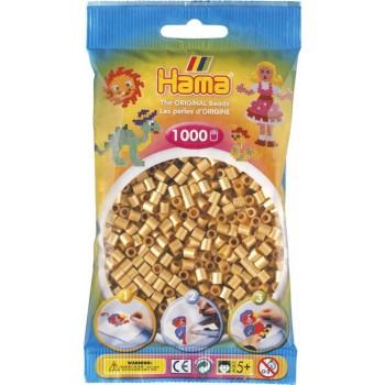 Koraliki Hama MIDI 1000 Koralików 207-61 Kolor Złoty