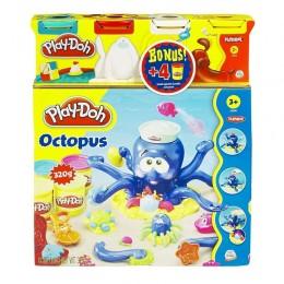 Ciastolina Play-Doh - Ośmiornica i 4 tubki GRATIS - 20472