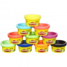 Ciastolina 22037 Play-Doh Tuby 10 kolorów