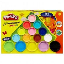 Ciastolina Play-Doh - Góra Kolorów z foremkami - 1180g 22570