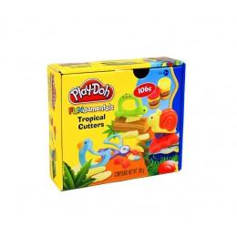 Ciastolina Play-Doh - Tropiki - Zwierzątka 24089