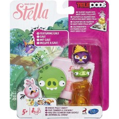 Angry Birds Stella Telepods A8880 Gale Dahlia Willow Stella