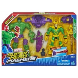 HASBRO SUPER HERO MASHERS HULK VS LOKI A8897