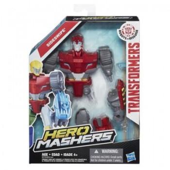 HASBRO SUPER HERO MASHERS TRANSFORMERS SIDESWIPE B0778
