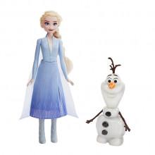 Hasbro – Kraina Lodu 2 – Elsa i mówiący Olaf – E5508