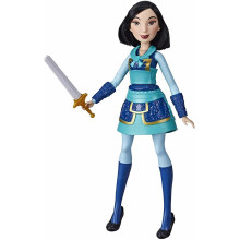 Hasbro Księżniczki Disneya - Lalka Warrior Moves Mulan E8628