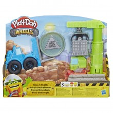 Ciastolina Play-Doh - Wheels - Dźwig E5400