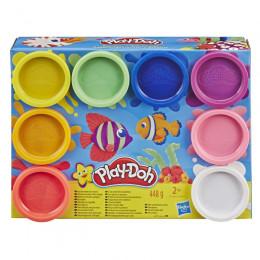 Ciastolina Play-Doh – Morski zestaw - 8 tubek – E5062