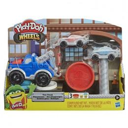 Ciastolina Play-Doh – Zestaw z wozem holowniczym - E6690