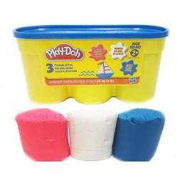 Ciastolina Play-Doh - Zestaw trzech tubek 1,36kg - A0951