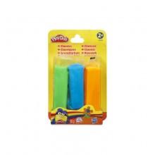Ciastolina Play-Doh - 3pak 85g - zielona, niebieska, pomarańczowa - A3359