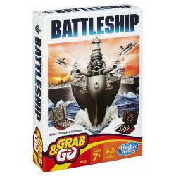 Hasbro - Battleship - Grab&Go - Gra Statki - B0995