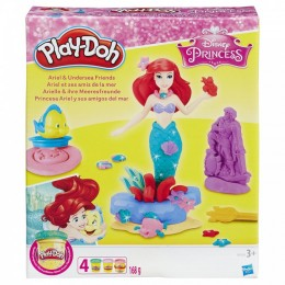 Ciastoliina Play-Doh Disney - Arielka i podwodni przyjaciele B5529