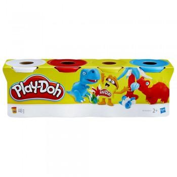 Ciastolina Play-Doh - Cztery tubki 448g - Dino B6508 B5517