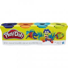 Ciastolina Play-Doh - Cztery tubki 448g - Rybka B5517 B6509