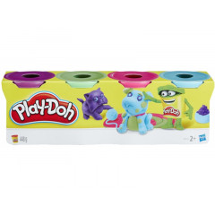 Ciastolina Play-Doh - Cztery tubki 448g - Piesek B6510 B5517