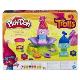 Hasbro B9027 Ciastolina Play-Doh - Salon fryzjerski Trolli