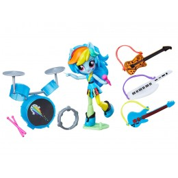 My Little Pony Equestria Girls Minis B9484 - Lekcja rocka z Rainbow Dash