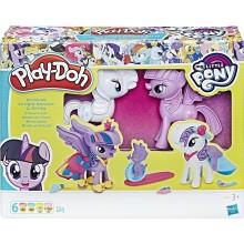 Ciastolina Play-Doh - Stylowe kucyki Pony Rarity i Twilight Sparkle - B9717