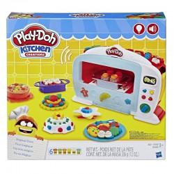 Hasbro Ciastolina Play-Doh B9740 Kuchnia - Magiczny piekarnik z foremkami