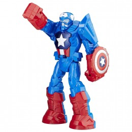 Playskool Heroes - Zbroja Mecha - Kapitan Ameryka Robot C0265