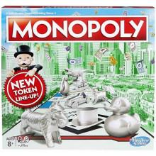 Hasbro - Gra planszowa Monopoly - Wersja angielska C1009
