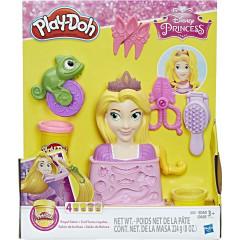 Ciastolina Play-Doh Disney - Salon fryzjerski Roszpunki C1044