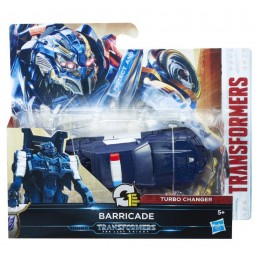 TRANSFORMERS C1313 Turbo Changer - Barricade