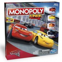 Hasbro C1343 Gra Monopoly Junior - Auta Cars