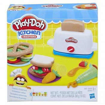 Ciastolina Play-Doh Kuchnia - Toster - Kanapkowe kreacje E0039