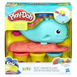 Ciastolina Play-Doh - Zestaw z wielorybem - E0100