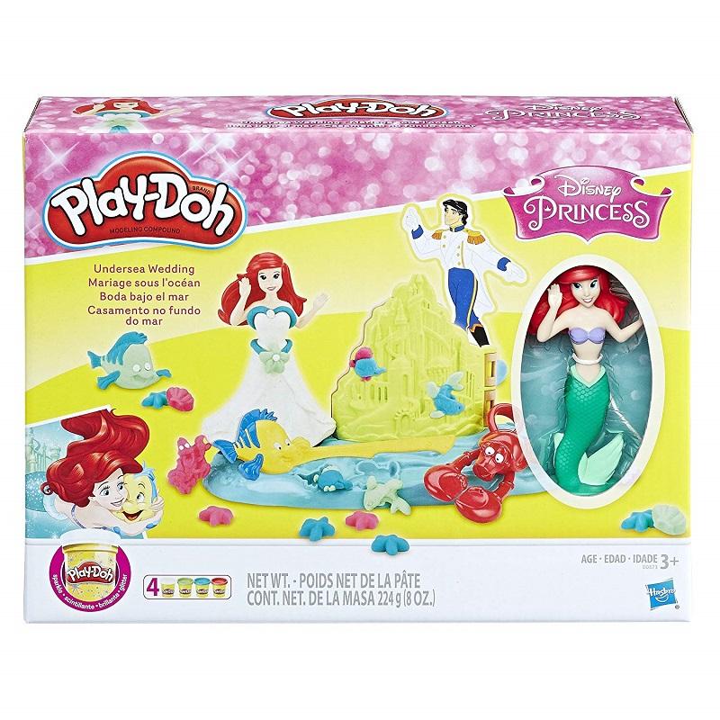 Ciastolina Play Doh Disney Mała Syrenka Podwodny ślub Arielki