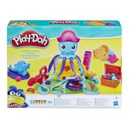 Ciastolina E0800 Play-Doh - Zestaw z Ośmiornicą 5 tubek