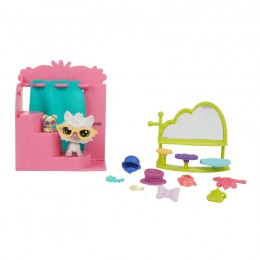 Littlest Pet Shop E0393 E1015 Fotobudka - Zestaw z figurką
