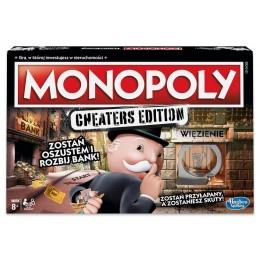 Hasbro – Gra strategiczna – Monopoly Cheaters Edition E1871