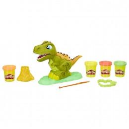 Ciastolina Play-Doh - Zestaw z dinozaurem Rexem - E1952