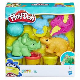 Ciastolina Play-Doh - Dino Świat - Zestaw z dinozaurami E1953